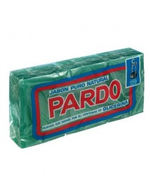 PARDO JABON PURO NATURAL VERDE 3X250 GRS