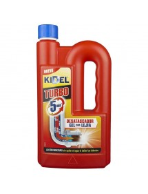 KIDEL DESATASCADOR TURBO GEL CON LEJIA 1000ML