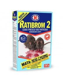 RATIBROM-2 RATICIDA 150 GRS CEBO FRESCO
