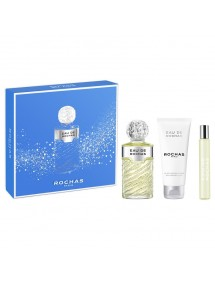 EAU ROCHAS EDT VAP 100ML + BODY 100ML+MINI 20ML