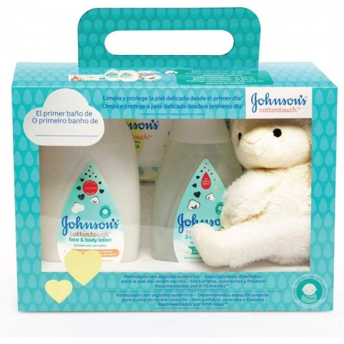 JOHNSONS BABY BABY PACK REGALO COTTON TOUCH