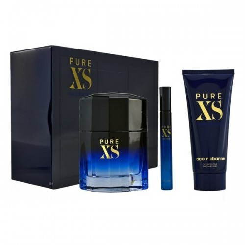 PURE XS EDT VAP 100ML+ GEL 100ML+MINI