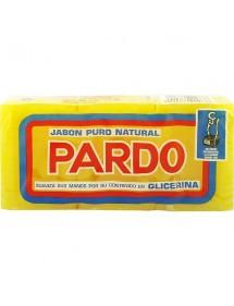 PARDO JABON PURO NATURAL AMARILLO 3X250 GRS