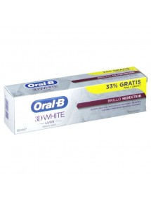 ORAL B PASTA 3D WHITE BRILLO SEDUCTOR 75ML+25ML