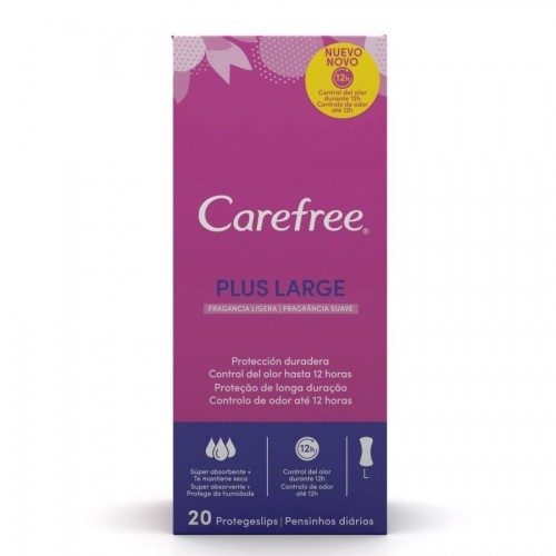 CAREFREE SALVA SLIP 20 UDS. MAXI PLUS LARGO