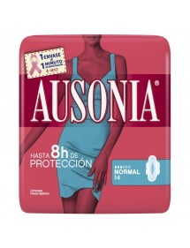 AUSONIA AIR DRY COMPRESA NORMAL ALAS 14 UDS.