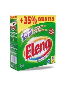 ELENA DETERGENTE POLVO 26+9=35 CAC. 2,555 KG.