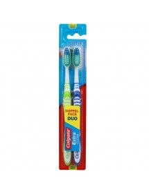 CEPILLO DENTAL COLGATE EXTRA CLEAN MEDIO 2 UD.