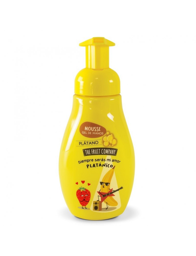 THE FRUIT COMPANY JABON DE MANOS EN ESPUMA 250ML PLATANO