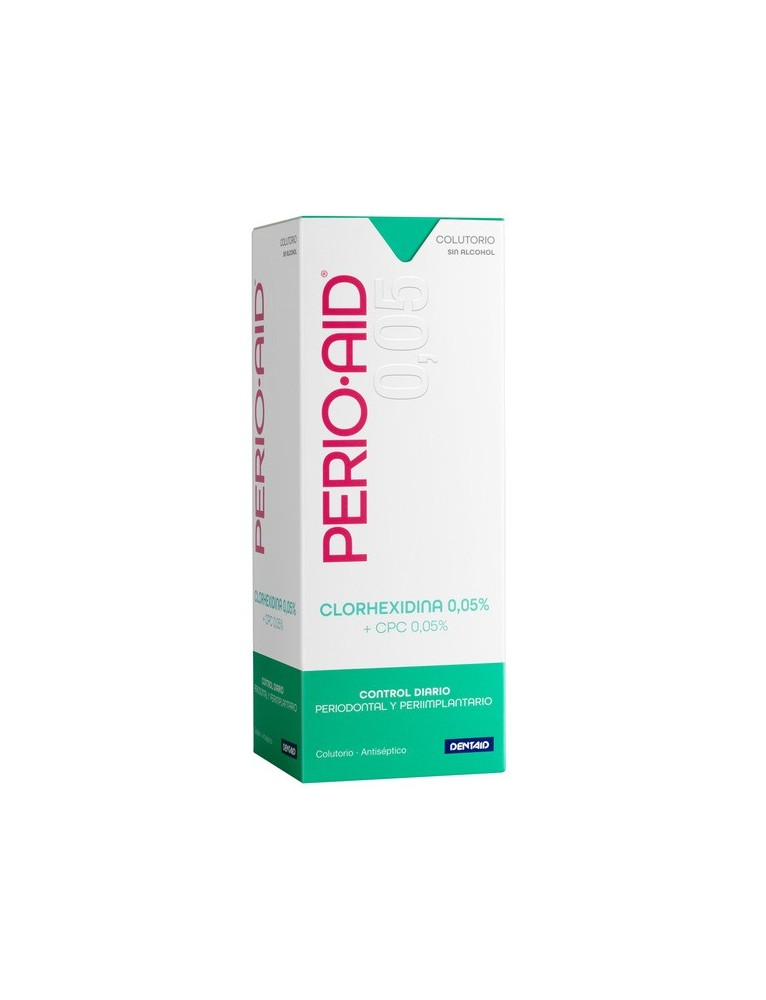 PERIO-AID COLUTORIO MANTENIMIENTO CLORHEXIDINA 0.05% 500ML