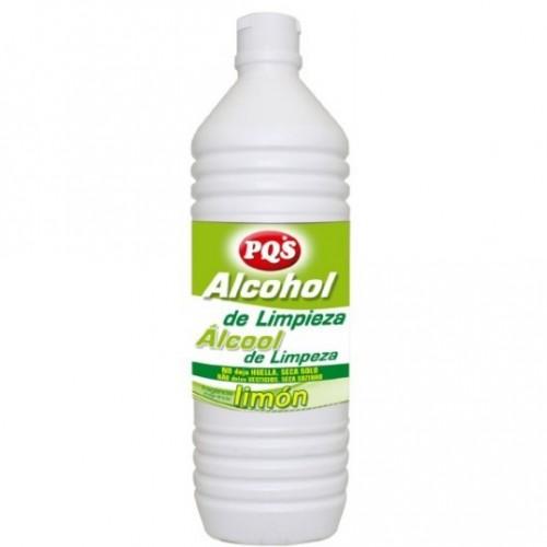 PQS ALCOHOL DE LIMPIEZA LIMON 1 LT