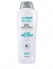 AGRADO GEL DE BAÑO Y DUCHA 1250ML SALES