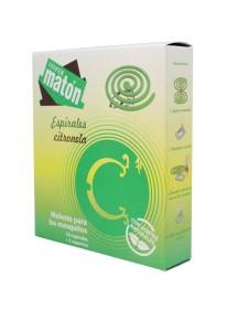 MATON ESPIRALES CITRONELA 10+2 SOPORTES