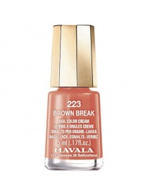 MAVALA LACA DE UÑAS MINICOLOR 223 BROWN BREAK
