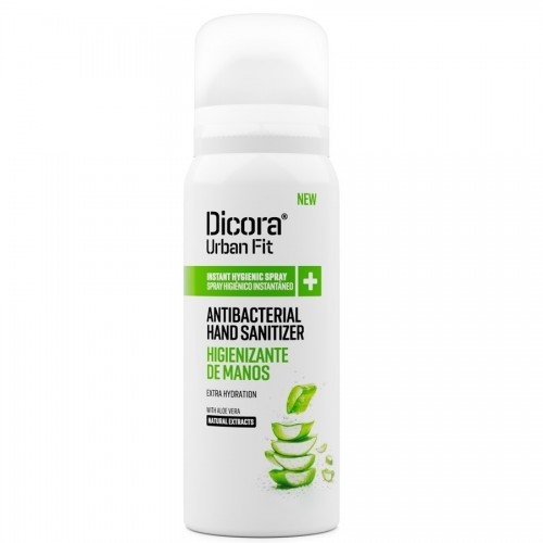 DICORA SPRAY HIGIENIZANTE DE MANOS ALOE 75ML