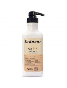 BABARIA BODY MILK VITAMINA E PIELES SECAS DOSIF. 500ML