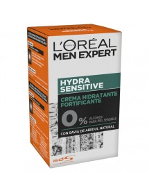 LOREAL MEN HIDRATANTE SENSITIVE 0% ALCOHOL 50ML