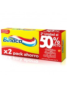 BINACA PASTA DENTAL AMARILLA 2X75ML