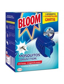 BLOOM ELECTRICO MOSQUITOS APARATO +10 PASTILLAS