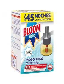 BLOOM ELECTRICO RECAMBIO LIQUIDO ZERO MOSQUITOS COMUN/TIGRE