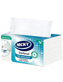 NICKY DEFEND PAPEL SECA MANOS DESECHABLE 100 UDS.
