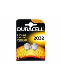 DURACELL PILA ALCALINA BOTON 2032 PACK 2 UDS.