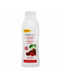 SADERMO GEL DE BAÑO 1250ML CEREZA