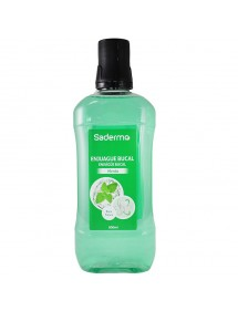 SADERMO ENJUAGE BUCAL MENTA 500ML (VERDE)