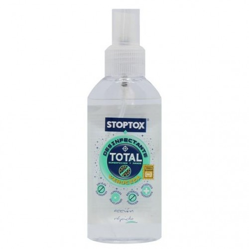 STOPTOX SUOLUCION VIRUCIDA SPRAY 100ML (MANOS Y SUPERFICIES)