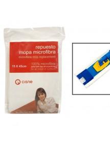 MOPA ABRILLANTADORA MICROFIBRA CISNE 15X45CM RECAMBIO