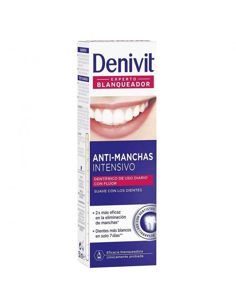 DENIVIT PASTA DENTIFRICA BLANQUEADORA ANTI-MANCHAS 50ML