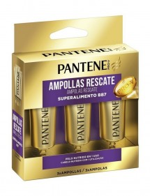 PANTENE AMPOLLAS RESCATE 1 MINUTO BB7 SUPERALIMENTO 3X15ML