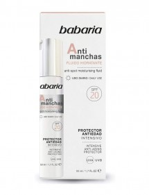 BABARIA FACIAL ANTIMANCHAS FLUIDO HIDRANTANTE 50ML