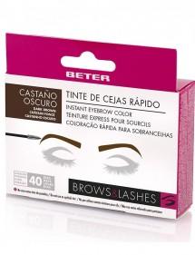 BETER TINTE RAPIDO DE CEJAS CASTAÑO OSCURO BROWS&LASHES