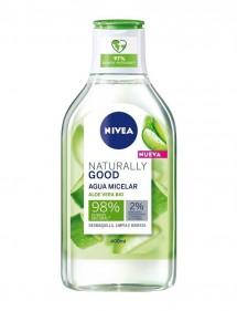 NIVEA AGUA MICELAR 400ML NATURALLY GOOD 98% NATURAL