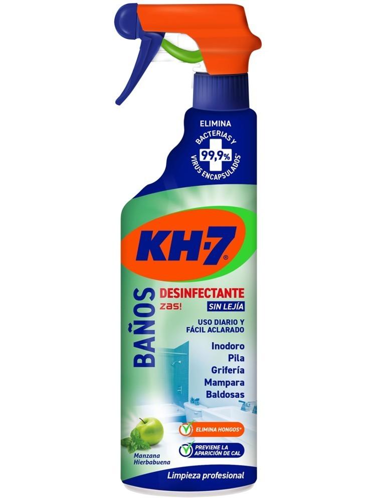 KH7 LIMPIADOR BAÑOS DESINFECTANTE PISTOLA 650ML