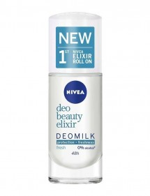 NIVEA DESODORANTE ROLL-ON DEOMILK FRESH 50ML 0% ALCOHOL