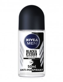 NIVEA DESODORANTE ROLL-ON MEN INVISIBLE B&W 50ML