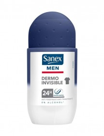 SANEX DESODORANTE ROLL-ON MEN DERMO INV. 0% ALCOHOL 50ML