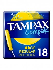 TAMPAX COMPAK 18 UDS REGULAR
