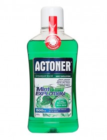 ACTONER ENJUAGE BUCAL MINT EXPLOTION 500ML (VERDE)