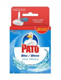 PATO BLOC RECAMBIO WC AZUL 2 X 40GRS