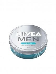 NIVEA FOR MEN CREMA FRESH 75ML CARA, CUERPO, MANOS