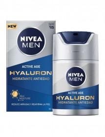NIVEA FOR MEN ACTIVE AGE GEL HIDRATANTE HYALURON 50ML