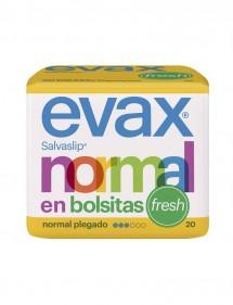 EVAX SALVA SLIP NORMAL EN BOLSITAS 20 UDS. (PLEGADO)