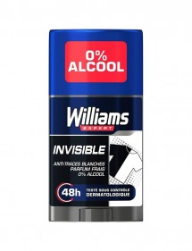 WILLIAMS DESODORANTE STICK INVISIBLE 75ML