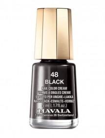 MAVALA LACA DE UÑAS MINICOLOR PASTEL 48 BLACK
