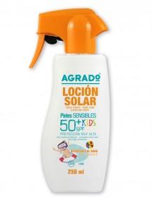 AGRADO SOLAR CREMA KIDS PROTECCION FP50+ PISTOLA 250ML