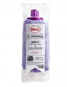 FREGONA MICROFIBRA MERY 100% MICROFIBRA (LILA GRANDE)