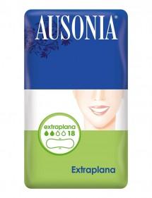 AUSONIA CLASICA COMPRESA EXTRAPLANA 18 UDS.